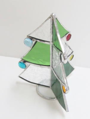 ステンドグラス クリスマスツリー 手作り
