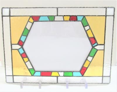ステンドグラス ウェルカムボード モザイク