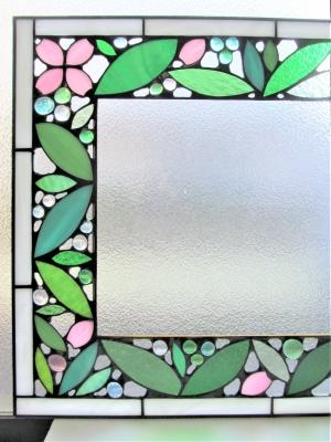 ステンドグラス ウェルカムボード 桜