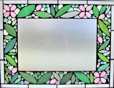 ステンドグラス 桜 ウエルカムボード