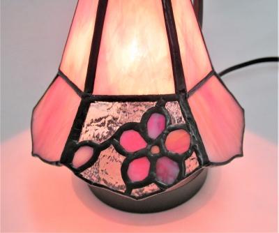 ステンドグラス桜 ランプ リリー
