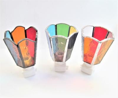ステンドグラス ハンドメイド体験 ランプ