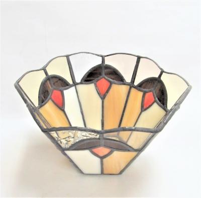 ステンドグラス小物入れ 鉢カバー