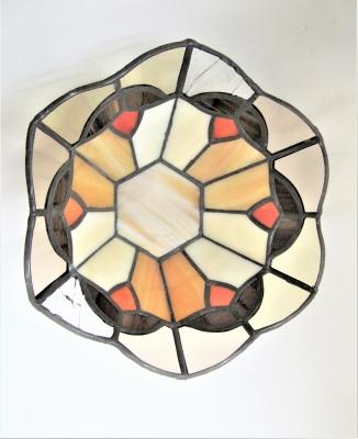 ステンドグラス鉢カバー キャンドルホルダー