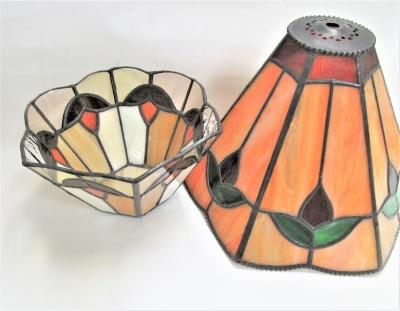 ステンドグラスランプ 鉢カバー