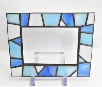 ステンドグラスモザイク フォトフレーム オーダーメイド