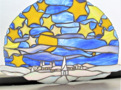 ステンドグラス教室 星 月 家 雪