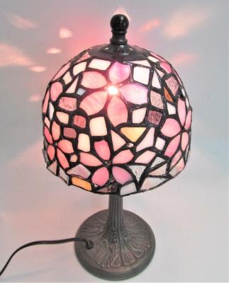 ステンドグラス ランプ サクラ