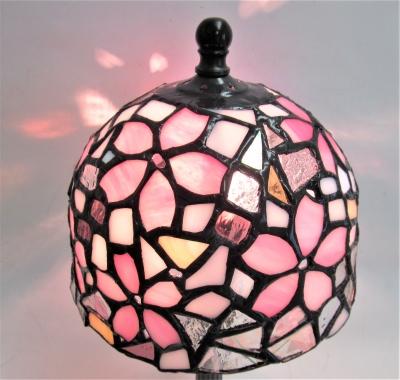 ステンドグラスランプ 桜