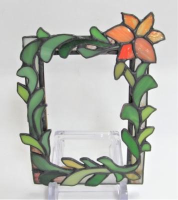 ステンドグラス 花