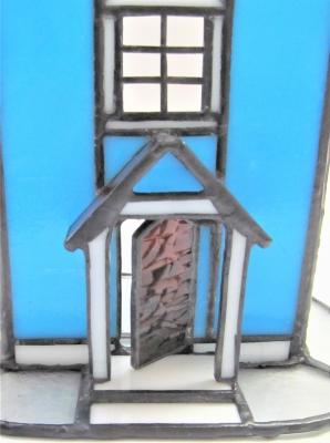ステンドグラス ムーミンの家