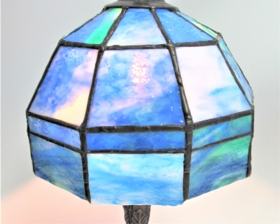 ステンドグラス ランプ ウロボロス