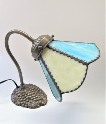 ステンドグラス ランプ グースネック ブドウ
