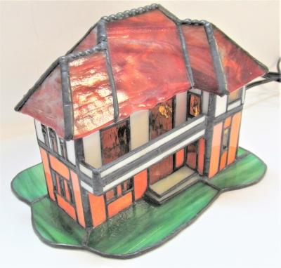 ステンドグラス 家 ハウス ランプ