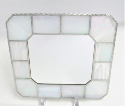 ステンドグラス ミラー 鏡