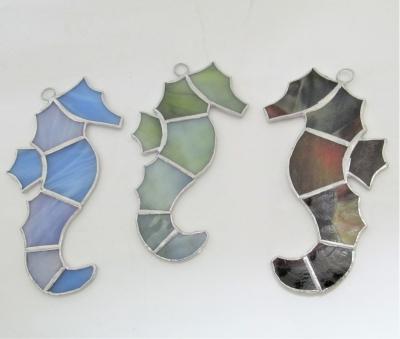 ステンドグラス タツノオトシゴ