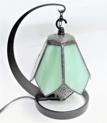 ステンドグラス ランプ 2重