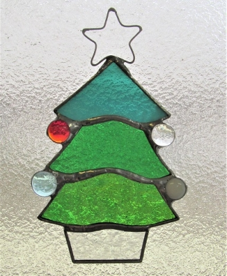 ステンドグラス クリスマスツリー