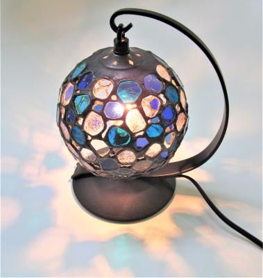 ステンドグラス ランプ 丸い 球体