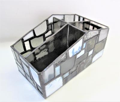 ステンドグラス モザイク リモコンケース