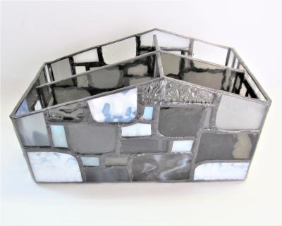 ステンドグラス リモコンケース モザイク