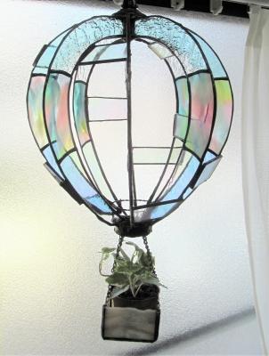 ステンドグラス グラスエンド 観葉植物