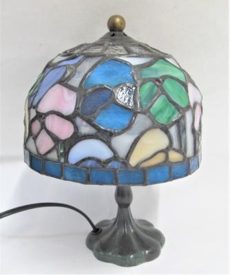 ステンドグラス パンジー ランプ