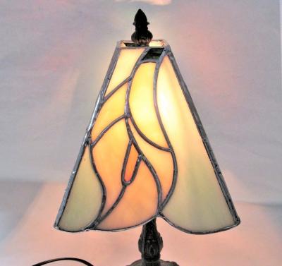 ステンドグラス カラー 花 ランプ