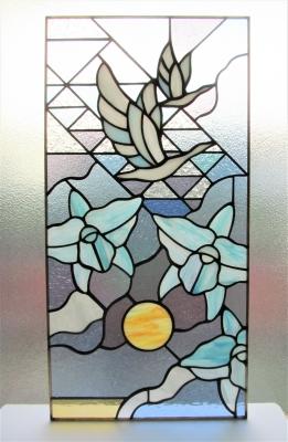 ステンドグラス ギリシャ神話 ヘレネー