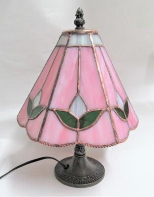 ステンドグラス ランプ チューリップ