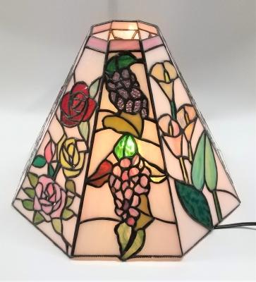 ステンドグラス ランプ ブドウ