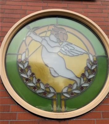 ステンドグラス 窓 天使
