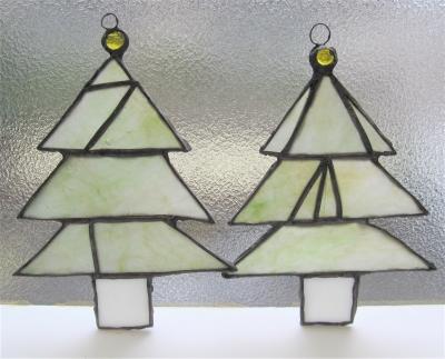 ステンドグラス クリスマスツリー ナギット