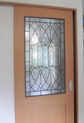 ステンドグラス ドア フランク・ロイド・ライト