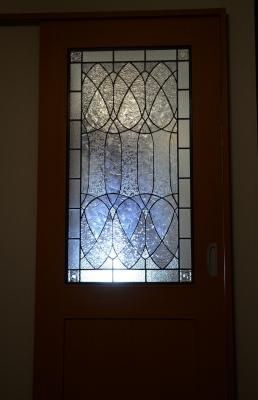 ステンドグラス ドア リビング