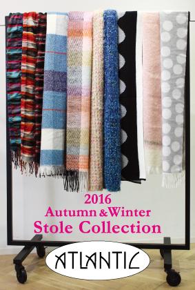 2016 AW ストールコレクション