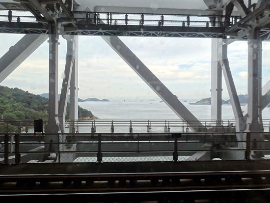 特急しおかぜ 瀬戸内海
