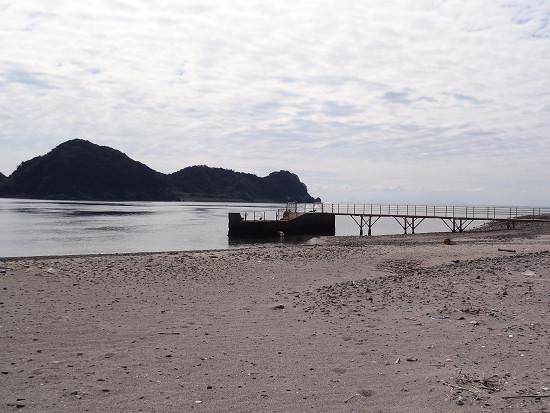 沖の島 船着き場