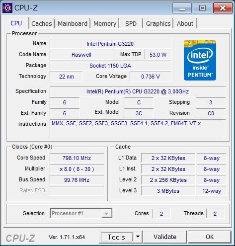 H530s 57320178 CPU-Z