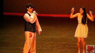 カナダの高校 「アジアの夜」 コンサート 司会者 前半