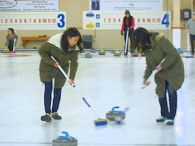 カナダ高校留学 留学生スポーツ カーリング 01