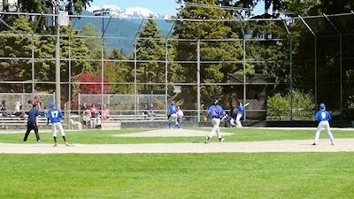 カナダの中学生 スポーツ 野球 02