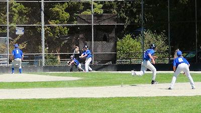 カナダの中学生 スポーツ 野球 03