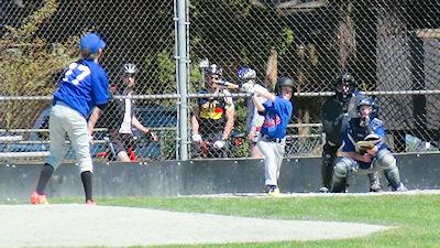 カナダの中学生 スポーツ 野球 04