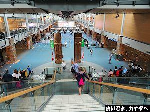 カナダ入国 バンクーバー空港 06