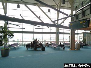 カナダ出国 バンクーバー空港 06