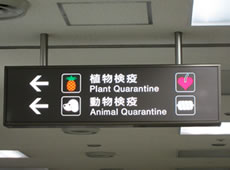 成田空港 植物・動物検疫