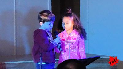 カナダの小学校 クリスマスコンサート 02
