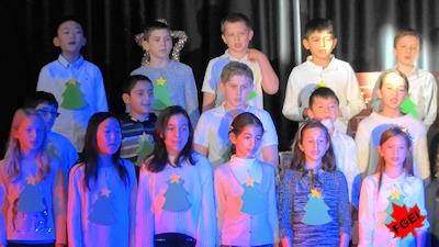 カナダの小学校 クリスマスコンサート 06