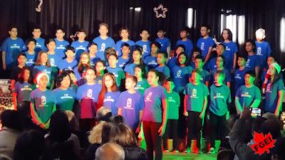 カナダの小学校 クリスマスコンサート 11